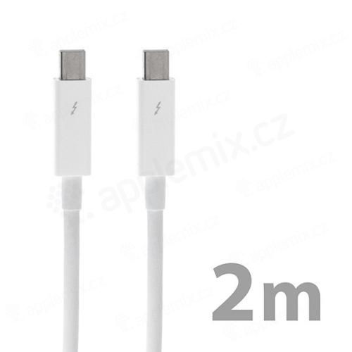 Kabel Thunderbolt pro Apple zařízení - bílý - 2m - kvalita A+