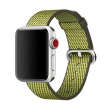 Originální řemínek pro Apple Watch 38mm Series 1 / 2 / 3 / 40mm Series 4 / 5 - nylonový - olivově zelený