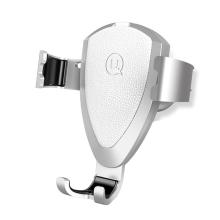 Držák do auta USAMS Fragnance - automatické uchycení - do ventilační mřížky - stříbrný