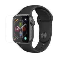 Tvrzené sklo (Tempered Glass) pro Apple Watch 40mm Series 4 - 2D okraj - čiré - 0,3mm