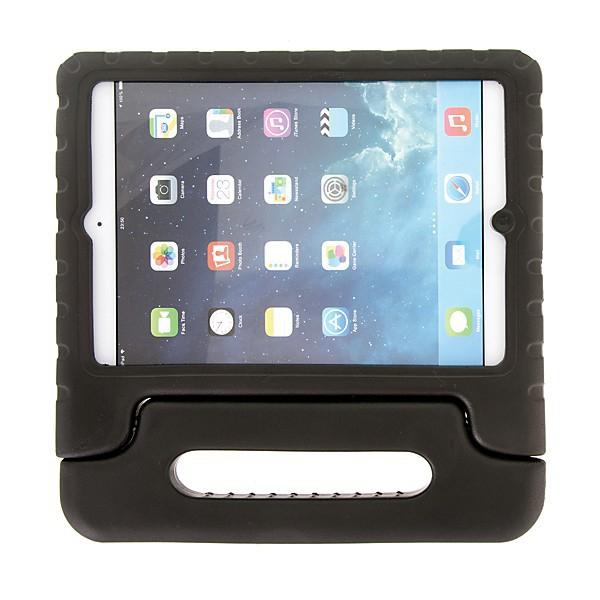 Ochranné pěnové pouzdro pro děti na Apple iPad Air 1.gen. s rukojetí / stojánkem - černé