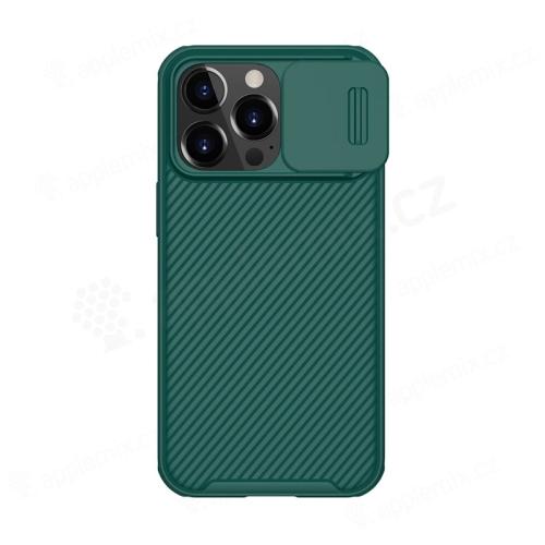 Kryt NILLKIN pro Apple iPhone 13 Pro - posuvná krytka fotoaparátu - plastový - zelený
