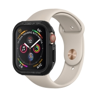 Kryt SPIGEN Rugged Armor pro Apple Watch 4 / 5 / 6 / SE - 44mm - černý