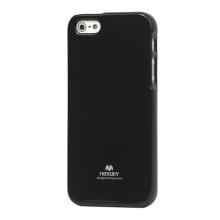 Gumový kryt Mercury pro Apple iPhone 5 / 5S / SE - jemně třpytivý