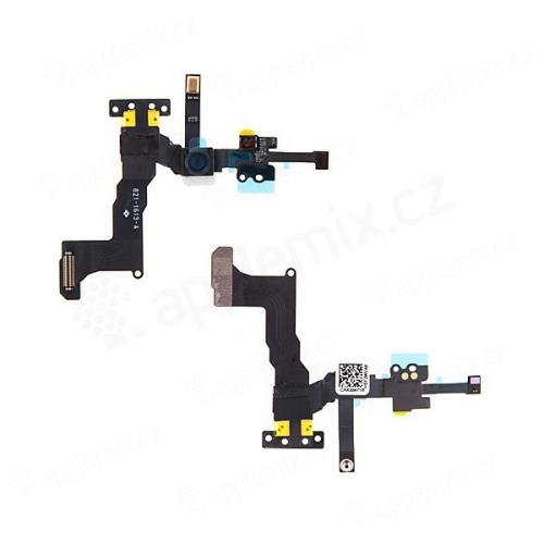 Flex přední kamera + SMD mikrofon + proximity senzor + kontakty pro horní reproduktor pro Apple iPhone 5C - kvalita A+