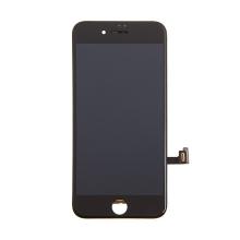 LCD panel + dotykové sklo (touch screen digitizér) pro Apple iPhone 8 / SE (2020) - černý - kvalita A