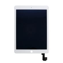 Náhradní LCD panel + přední dotykové sklo (touch screen) pro Apple iPad Air 2 - bílý rámeček