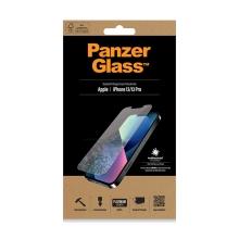 Tvrzené sklo (Tempered Glass) PANZERGLASS pro Apple iPhone 13 / 13 Pro - čiré - antibakteriální - 0,4mm