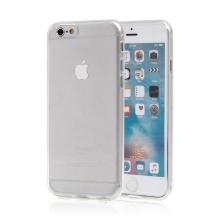 Gumový kryt pro Apple iPhone 6 / 6S - lesklý - průhledný
