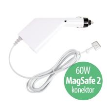 Autonabíječka pro Apple MacBook Pro 13 Retina s USB portem - 60W MagSafe 2 - bílá