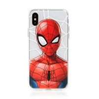 Kryt MARVEL pro Apple iPhone Xs - Spider-Man - gumový
