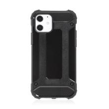 Kryt FORCELL Armor pro Apple iPhone 12 / 12 Pro - plastový / gumový - černý