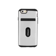 Plasto-gumový kryt Mercury pro Apple iPhone 6 / 6S - prostor pro umístění platební karty / osobních dokladů