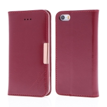 Pouzdro KLD Royale II pro Apple iPhone 5 / 5S / SE - kožené - červené