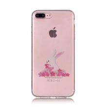 Kryt pro Apple iPhone 7 Plus / 8 Plus - králík - gumový