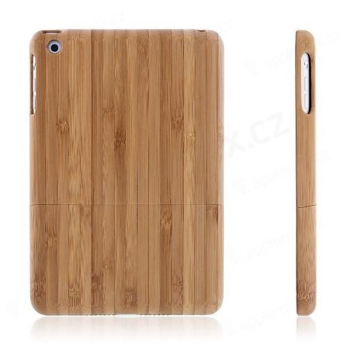 Dřevěný ochranný kryt Natural Bamboo Wood pro Apple iPad mini   mini 2    mini 3 6abcdf03feb