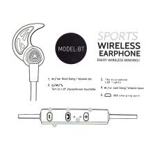Sluchátka Bluetooth bezdrátová - špunty - ovládání + mikrofon