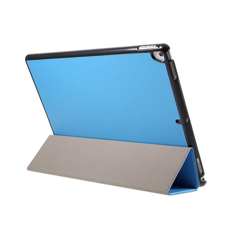 Pouzdro / kryt pro Apple iPad Pro 12,9 - integrovaný stojánek - umělá kůže - modré