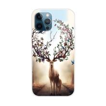 Kryt pro iPhone 12 Pro Max - gumový - snový jelen