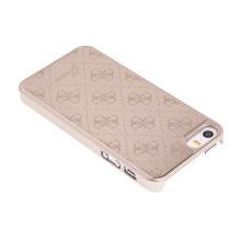 Kryt GUESS G pro Apple iPhone 5   5S   SE - plast   hliník - zlatý ... 91e98c440b8