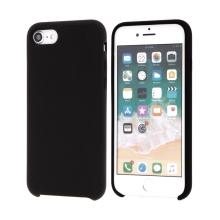 Kryt pro Apple iPhone 7 / 8 / SE (2020) - gumový - příjemný na dotek - černý