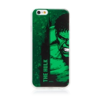 Kryt MARVEL pro Apple iPhone 6 / 6S - Hulk - gumový