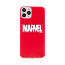 Kryt MARVEL pro Apple iPhone 11 Pro Max - gumový - červený
