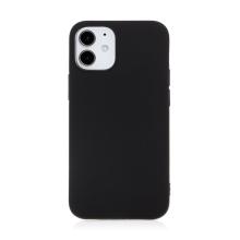 Kryt FORCELL Soft pro Apple iPhone 12 mini - gumový - černý