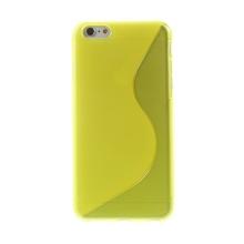 Kryt S line pro Apple iPhone 6 Plus / 6S Plus gumový protiskluzový - žlutý