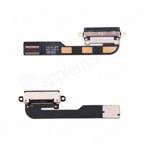 Flex kabel s dock konektorem pro Apple iPad 2.gen. - černý - kvalita A+