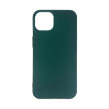 Kryt pro Apple iPhone 13 - gumový - tmavě zelený