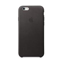 Originální kryt pro Apple iPhone 6 / 6S - kožený - černý