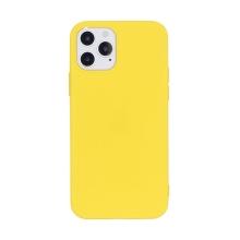 Kryt pro Apple iPhone 12 / 12 Pro - gumový - žlutý