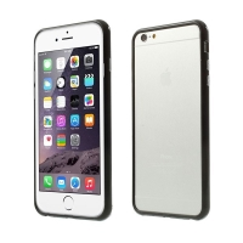 Plasto-gumový rámeček / bumper pro Apple iPhone 6 Plus / 6S Plus - černý