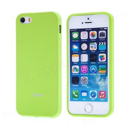 Kryt ROAR pro Apple iPhone 5   5S   SE - gumový - zelený  ad559e3b6b3