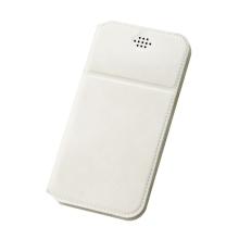 Pouzdro DUX DUCIS pro Apple 6 Plus / 6S Plus / 7 Plus / 8 Plus - umělá kůže - bílé