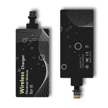 Podložka / přijímač pro bezdrátové nabíjení Qi pro Apple iPhone s Lightning konektorem - malá