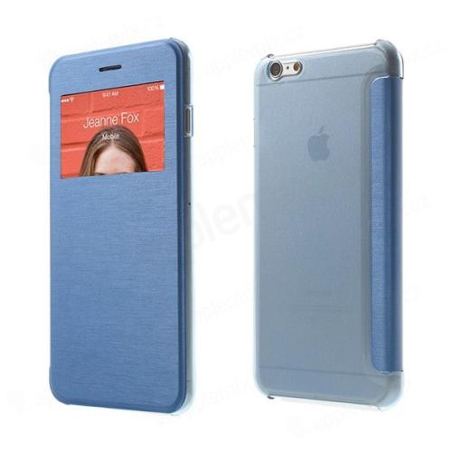 Flipové pouzdro pro Apple iPhone 6 Plus   6S Plus s průhledným prvkem    výřezem pro 7b2339f8a29