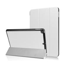 Pouzdro / kryt pro Apple iPad 9,7 (2017-2018) - funkce chytrého uspání + stojánek - bílé