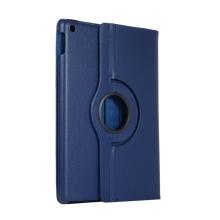 """Pouzdro pro Apple iPad 10,2"""" (2019-2021) / Pro 10,5 / Air 3 - 360° otočný stojánek - tmavě modré"""