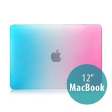 Tenký plastový obal / kryt pro Apple MacBook 12 Retina (rok 2015) - duhový