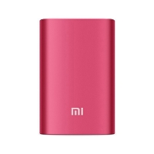 Externí baterie / power bank XIAOMI NDY-02-AN 10000mAh (5.1V, 2.1A max.) - červená