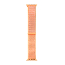 Řemínek TACTICAL pro Apple Watch 45mm / 44mm / 42mm - nylonový - oranžový