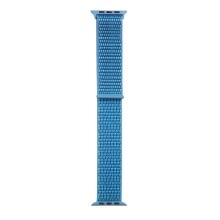 Řemínek TACTICAL pro Apple Watch 45mm / 44mm / 42mm - nylonový - modrý