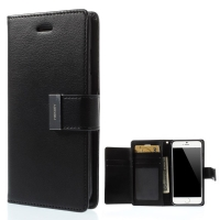 Vyklápěcí pouzdro - peněženka Mercury pro Apple iPhone 6 / 6S - s prostorem pro umístění platebních karet
