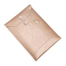 Pouzdro / obal SOYAN pro Apple MacBook 12 Retina - obálka / umělá kůže - zlaté champagne