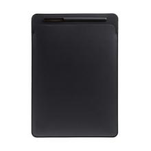 Pouzdro / obal pro Apple iPad Pro 12,9 / 12,9 (2017) - kapsa na Apple Pencil - umělá kůže - černé