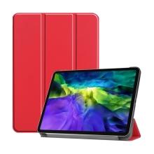 """Pouzdro pro Apple iPad Pro 11"""" (2018) / 11"""" (2020) - stojánek + funkce chytrého uspání - červené"""