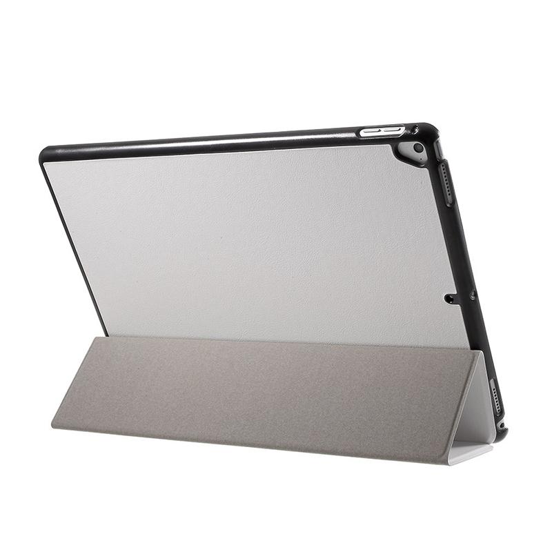 Pouzdro / kryt pro Apple iPad Pro 12,9 - integrovaný stojánek - umělá kůže - bílé