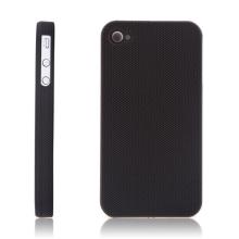 Ochranný kryt / pouzdro pro Apple iPhone 4 / 4S dírkovaný - černý